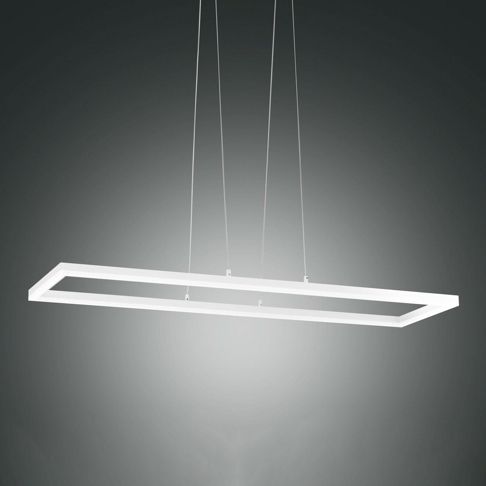 Lampa wisząca LED Bard, 92x32 biała