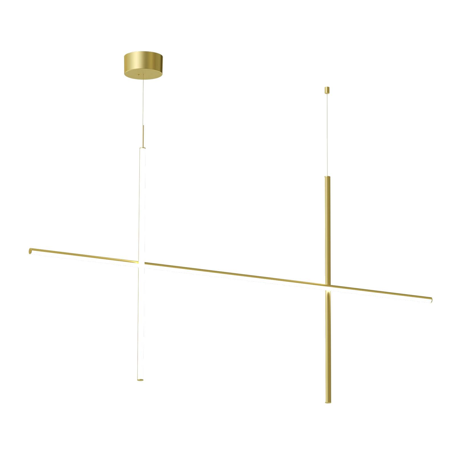 FLOS Coordinates S2 LED-Hängeleuchte Höhe 92,2 cm