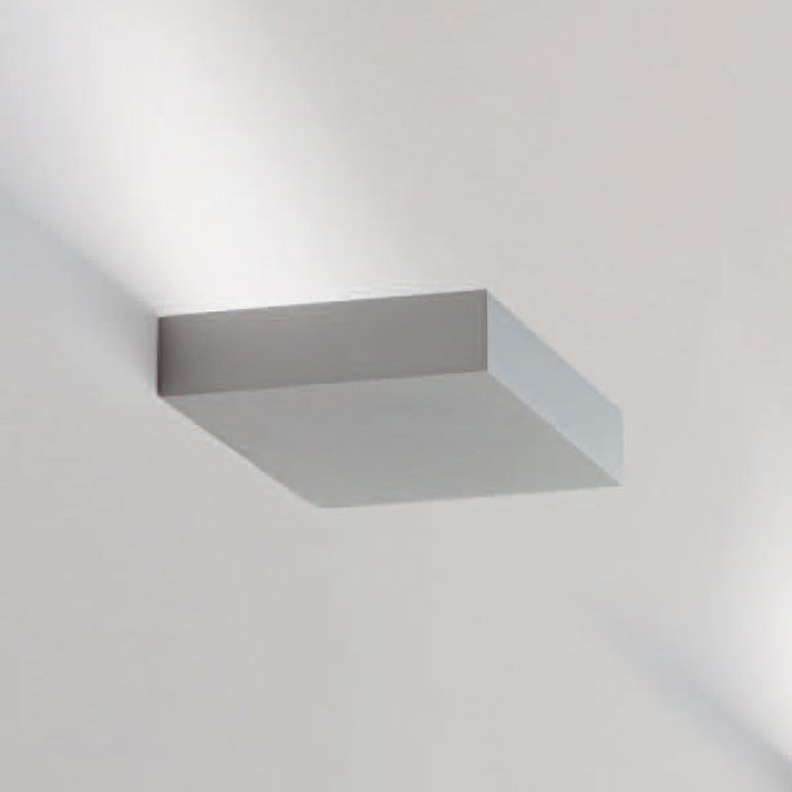 LED wandlamp Regolo, lengte 16,3 cm, aluminium