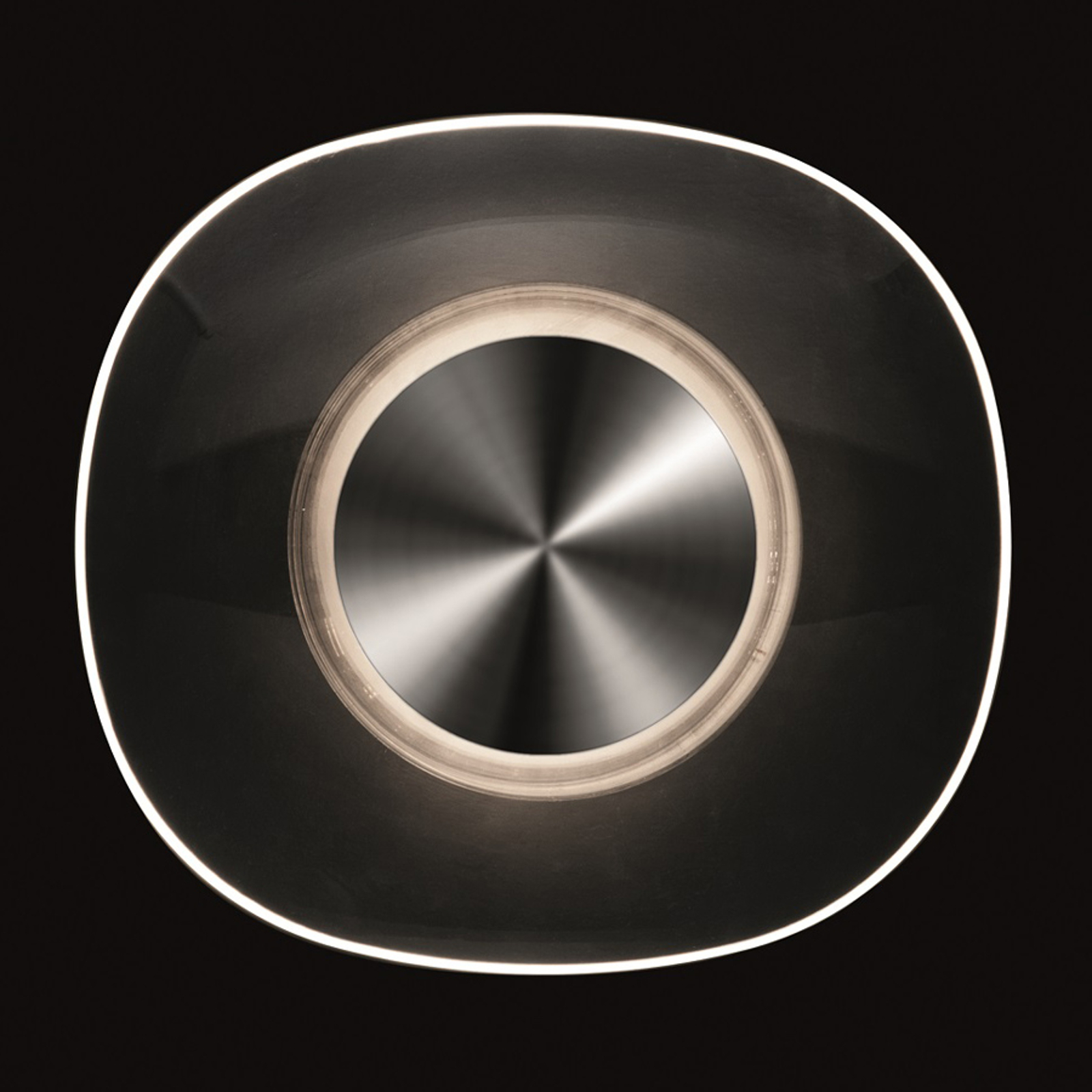 Oluce Yolk - designvegglampe med indirekte lys