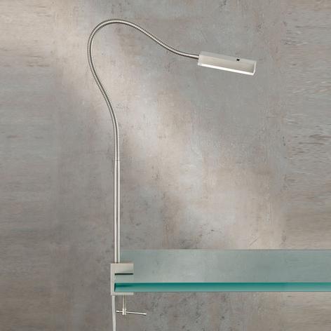 LED-Klemmleuchte Raik mit Gestensteuerung, 60 cm