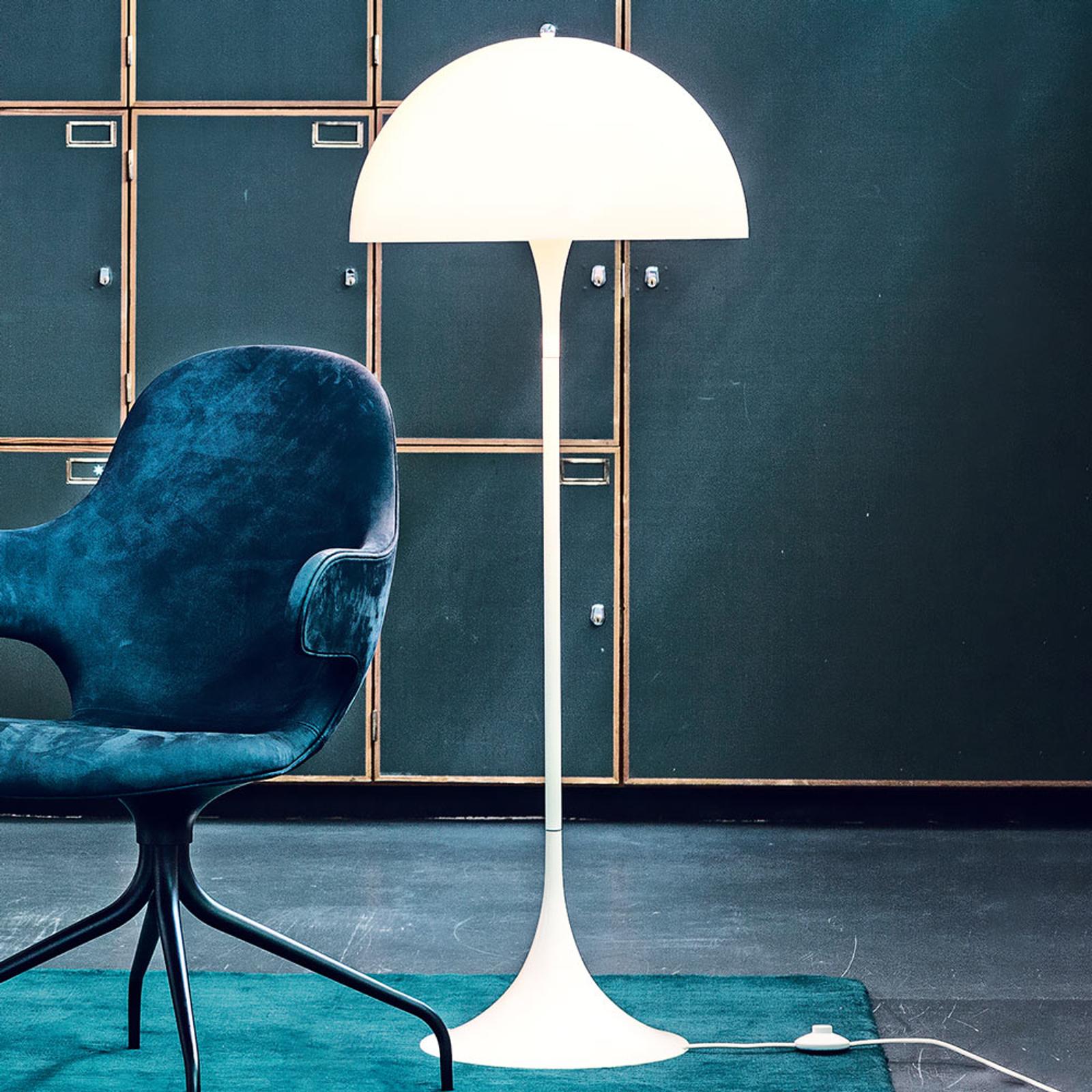 Louis Poulsen Panthella – designgulvlampe, opal
