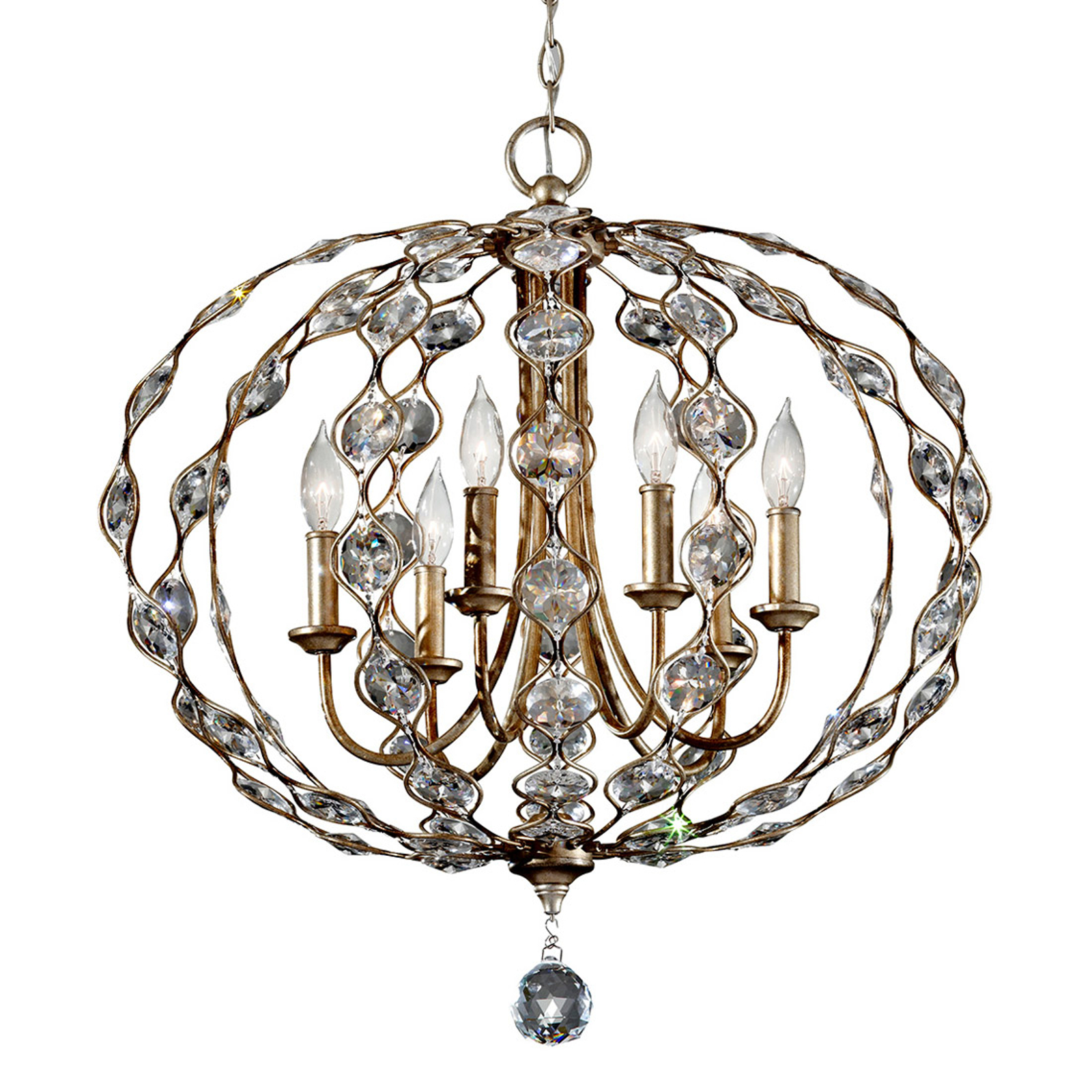 Leila richly-decorated crystal chandelier, 6 bulbs_3048307_1