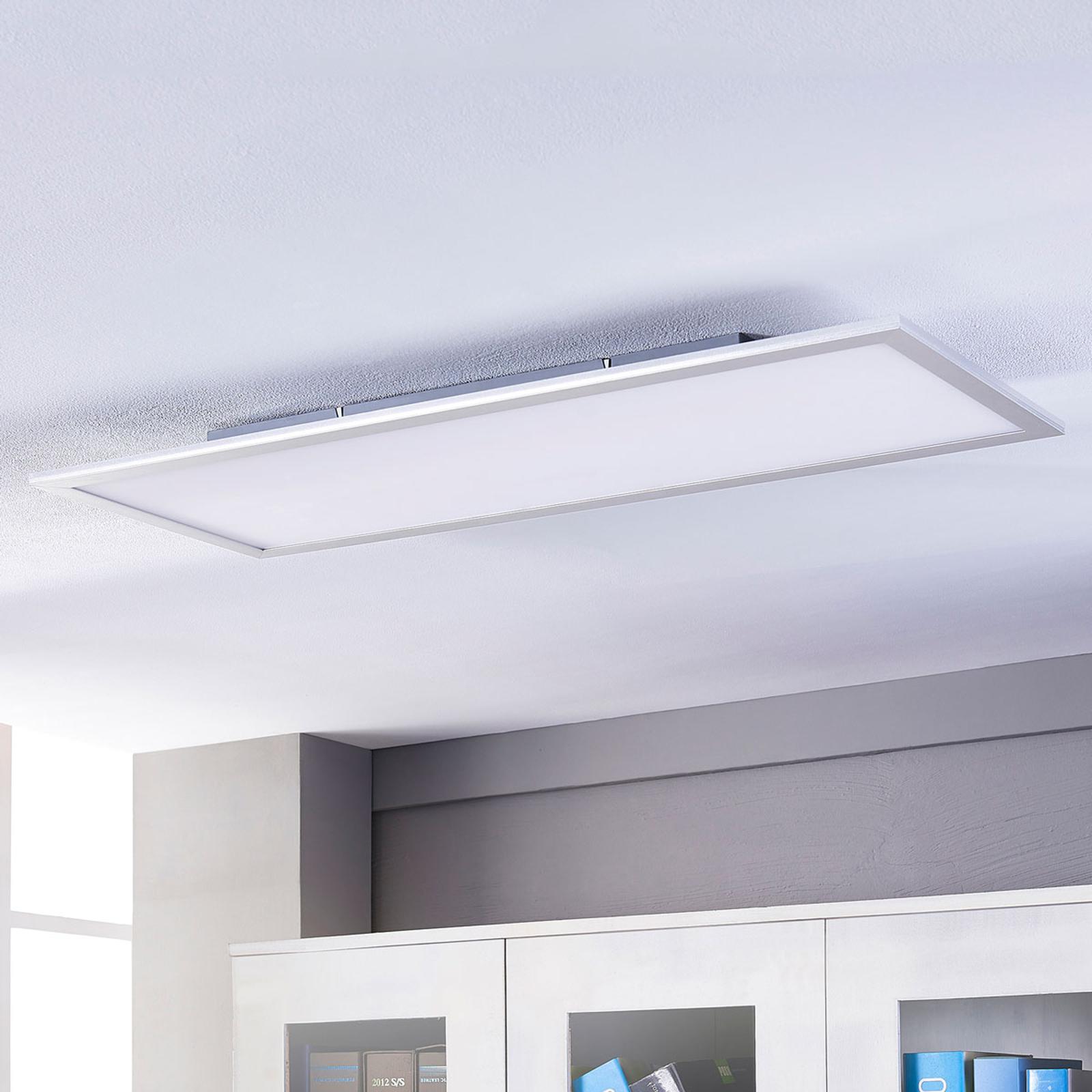 Lindby Livel LED panel, 4000K, 120 cm x 30 cm