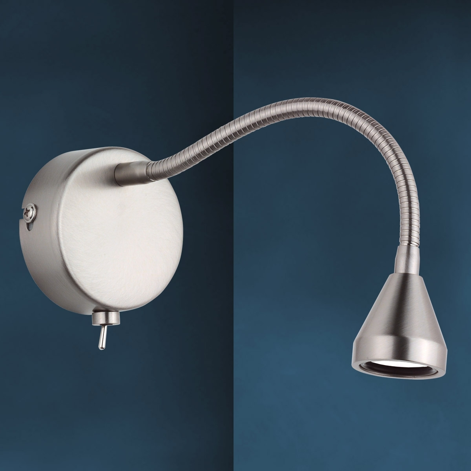 Aplique LED MINI, brazo flexible, blanco universal