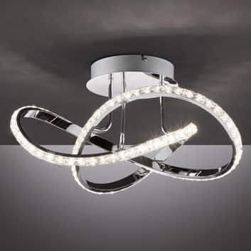 LED-Deckenleuchte Abro, 1-flg., 3-stufig dimmbar