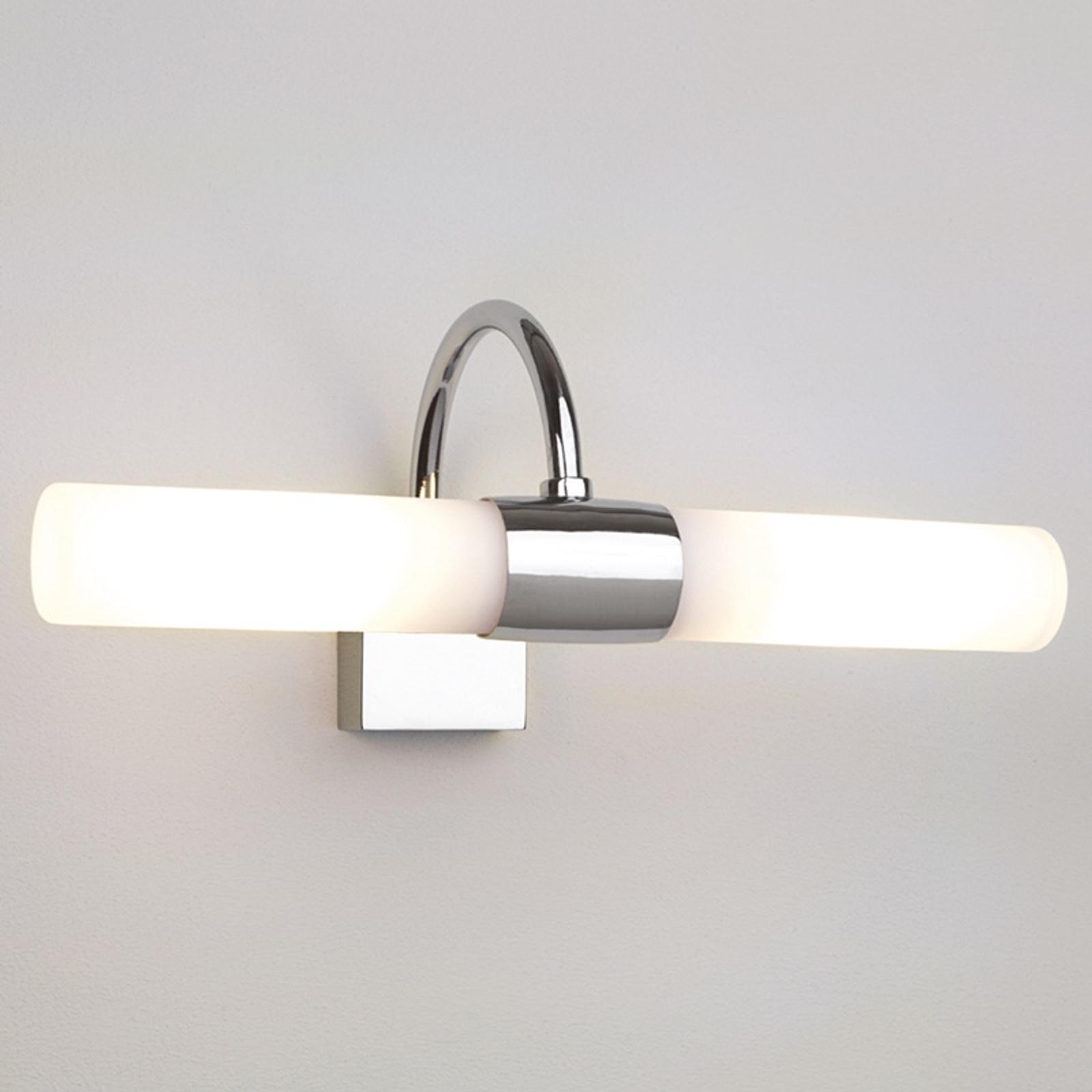 Biała lampa ścienna DAYTON do lustra