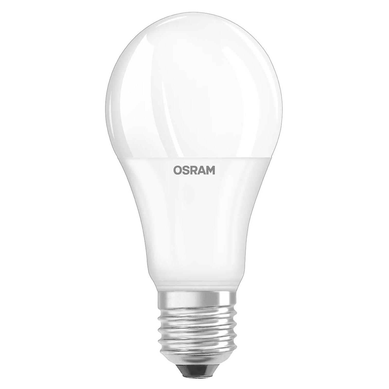 OSRAM LED-Lampe E27 6W opal Tageslichtsensor