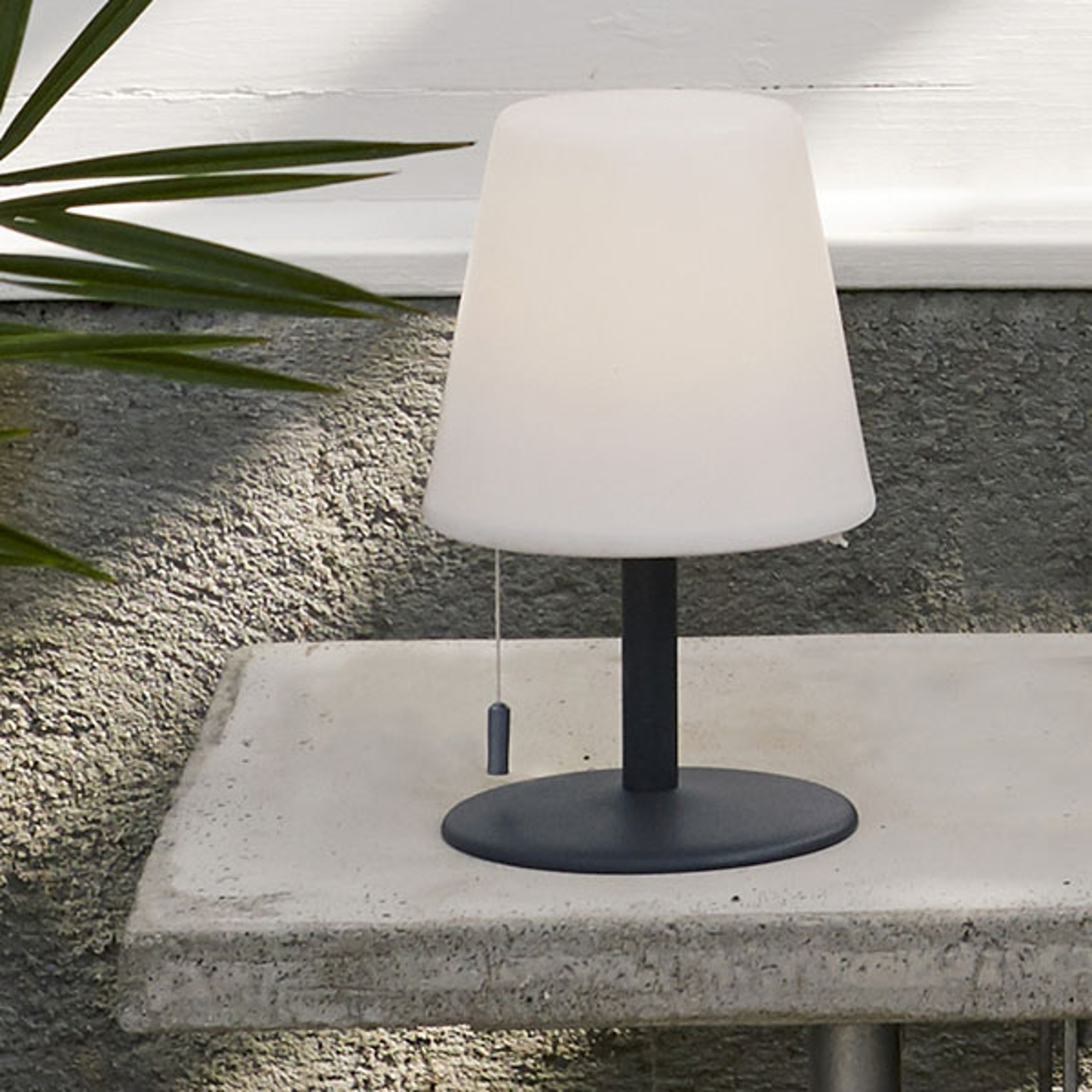 LED da tavolo Gardenlight Kreta a batteria 26,5cm