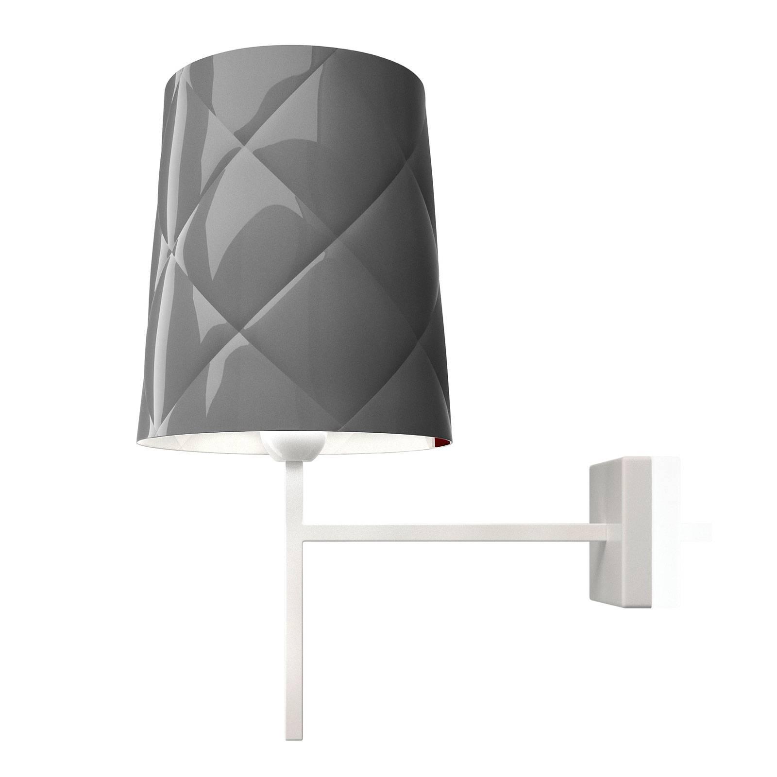 Kundalini New York wandlamp, grijs
