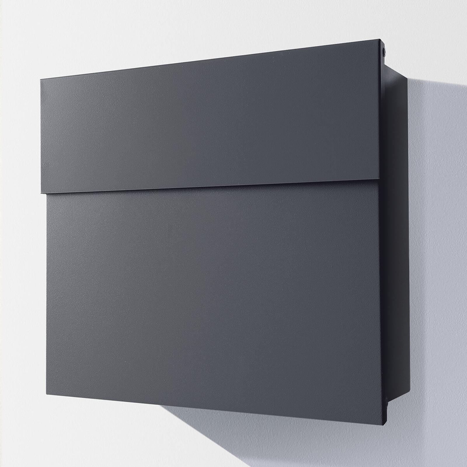 Design-brievenbus Letterman IV, antraciet
