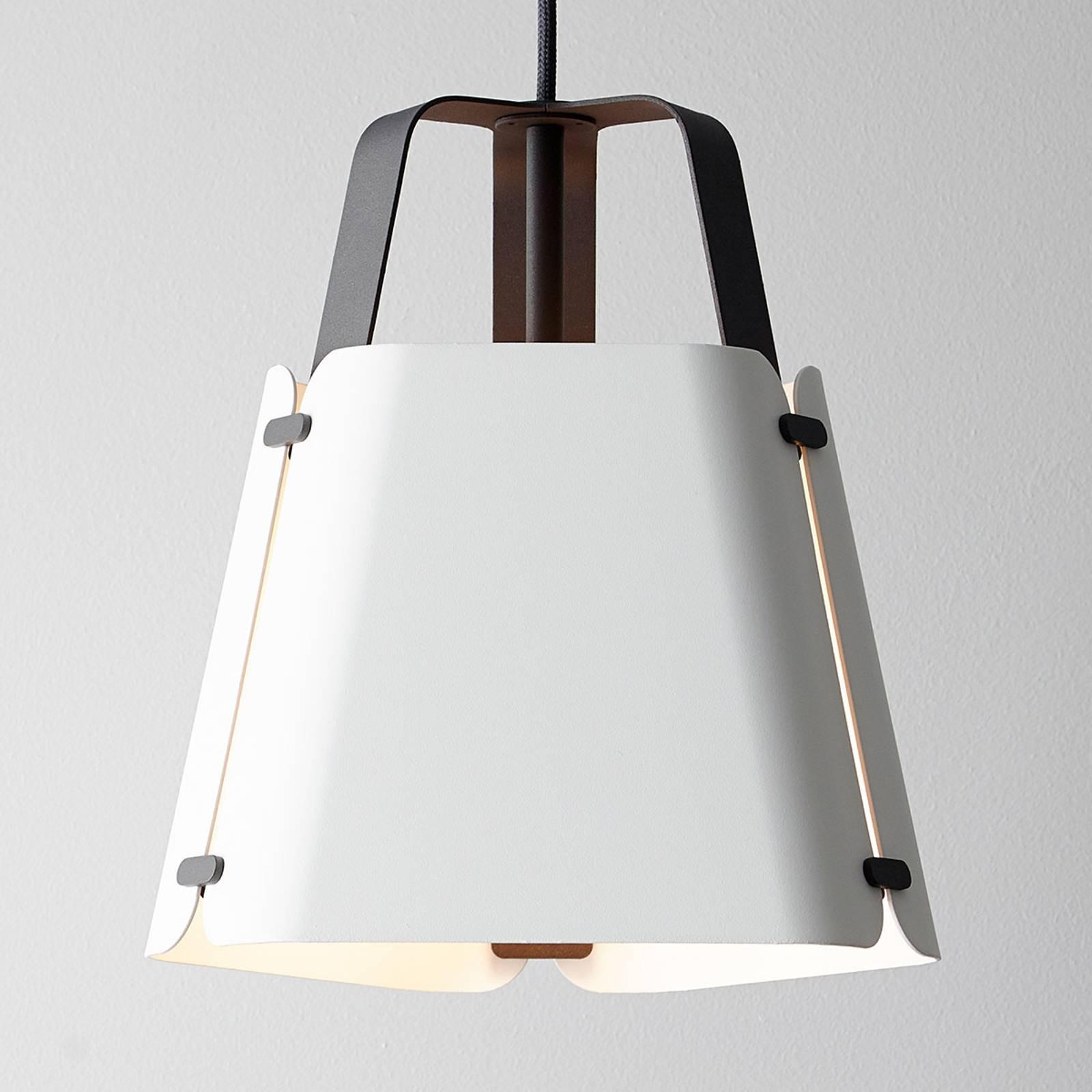 Suspension LED Fold, blanche, 27,5cm