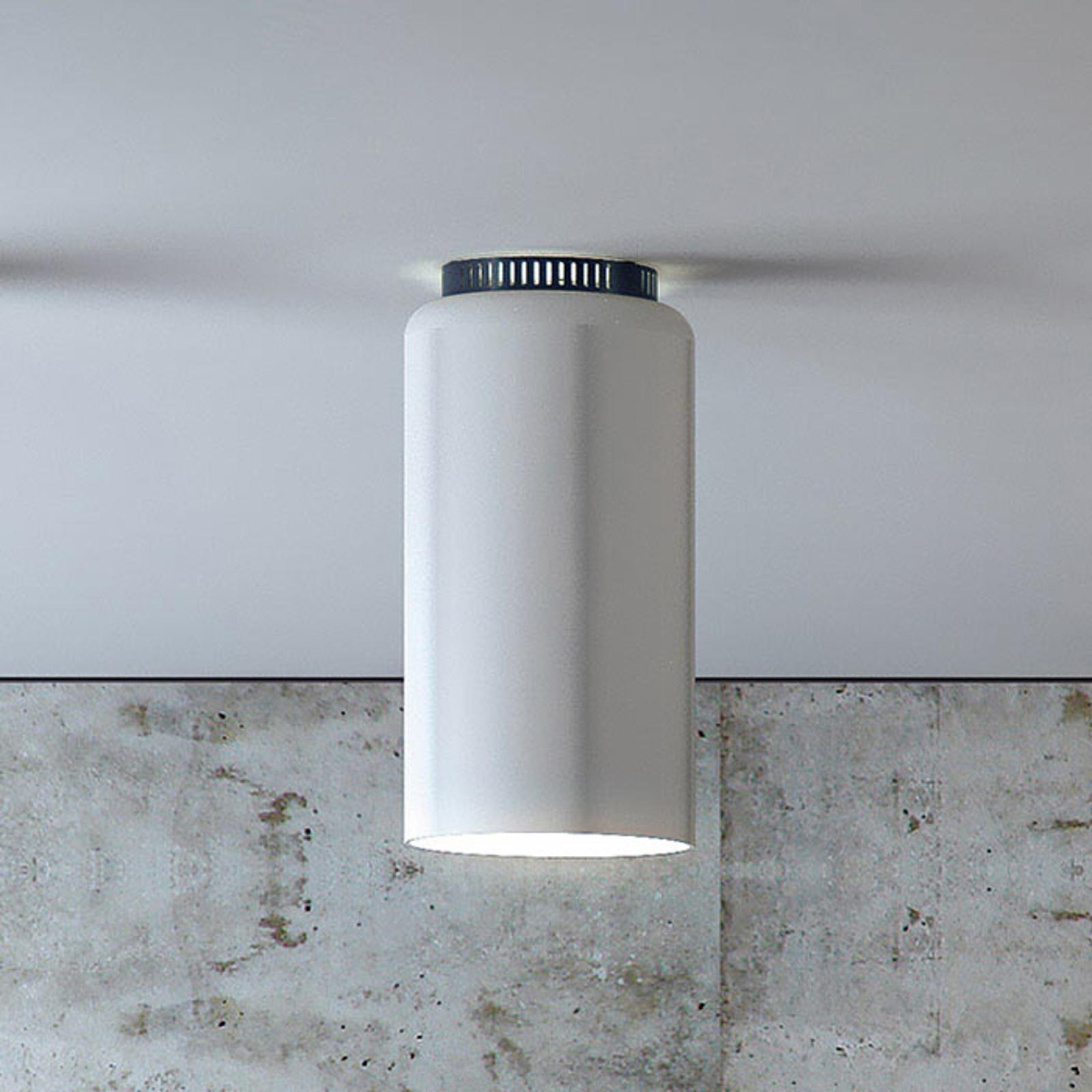 Rund designertaklampe Aspen C17B LED hvit