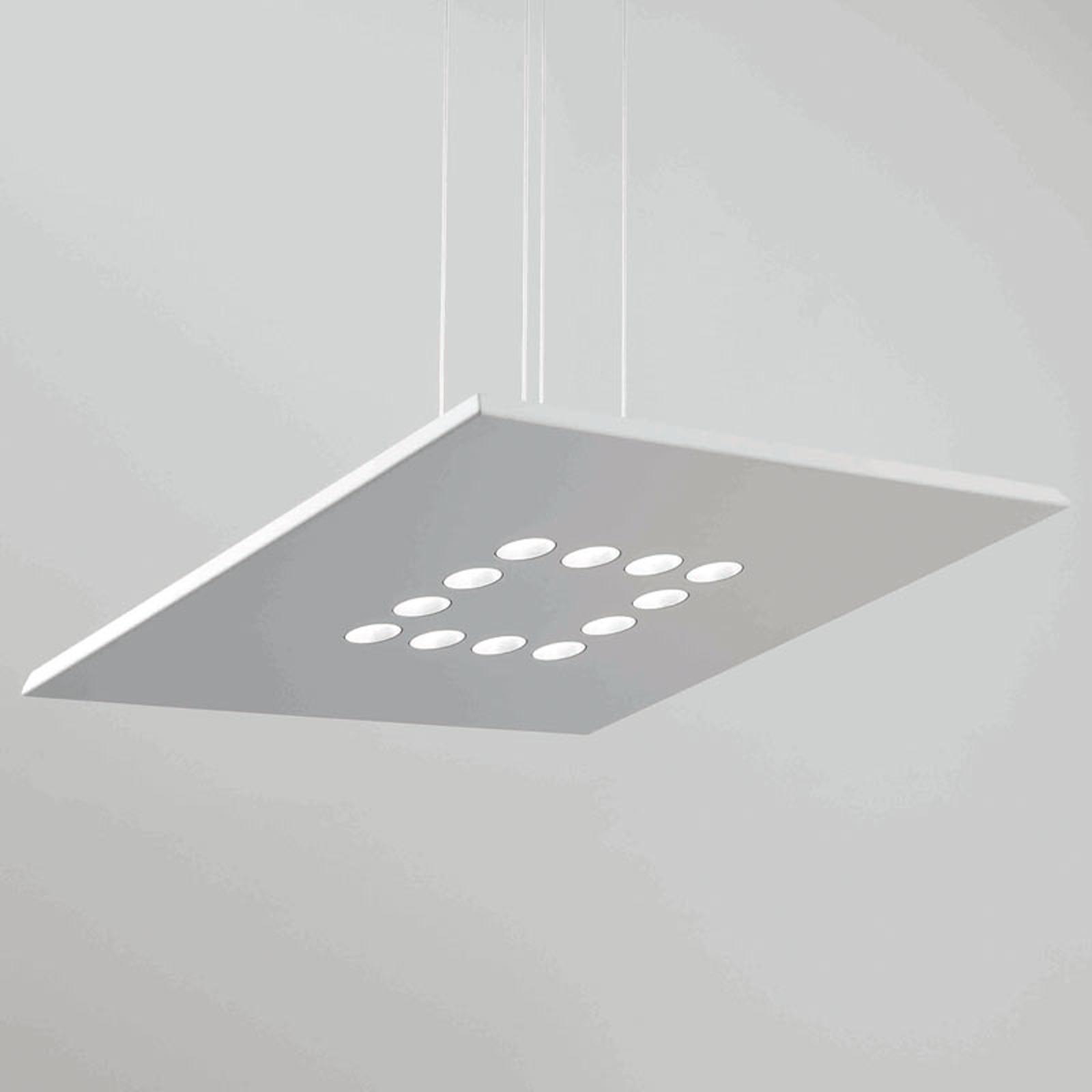 ICONE Confort LED-Hängeleuchte in edlem Weiß