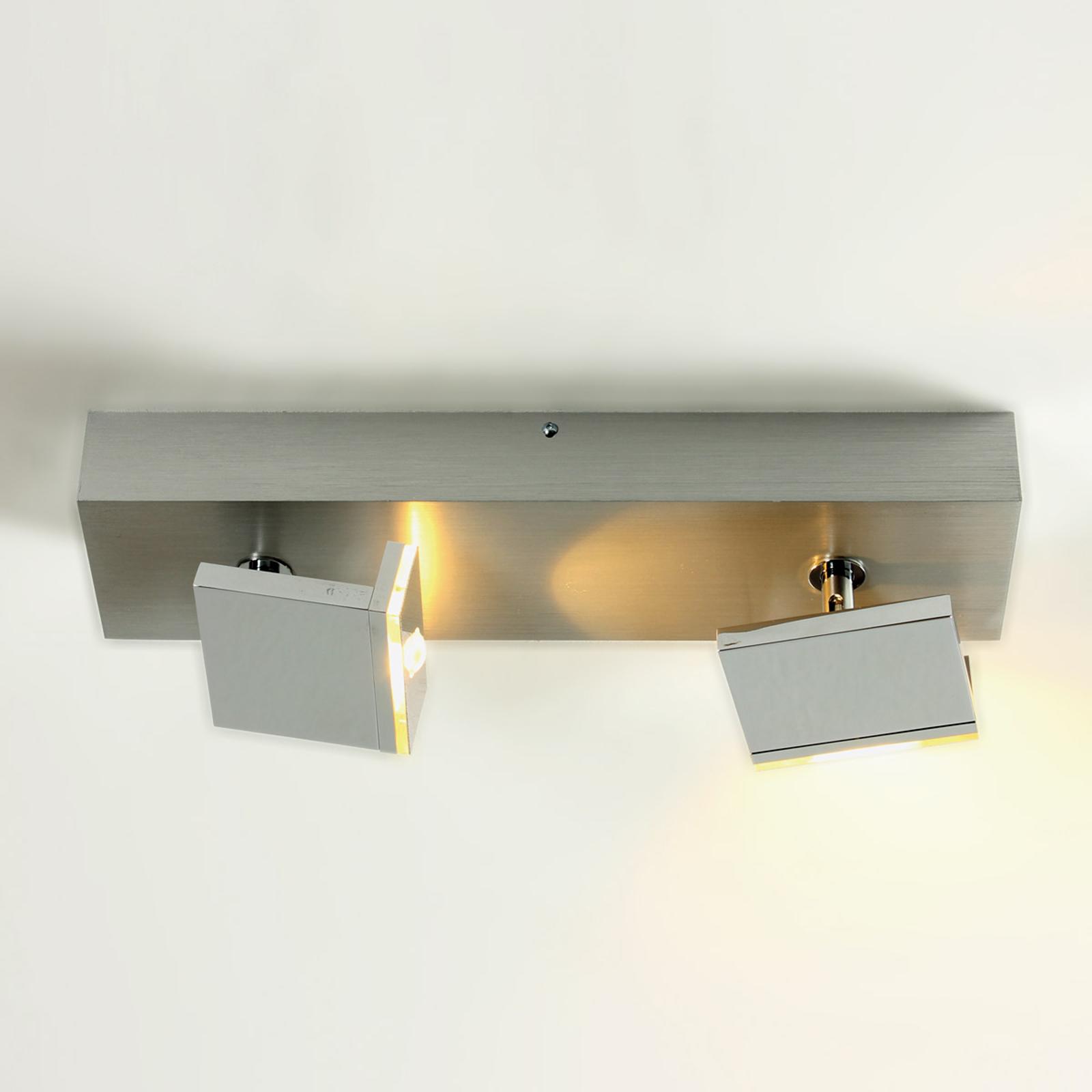 Elle - spot LED moderne à deux lampes