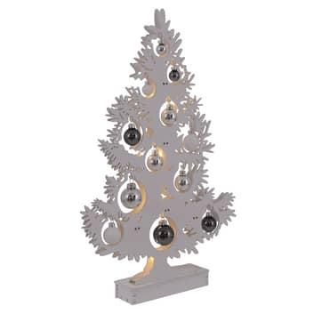 Lámpara decorativa LED árbol de Navidad blanco