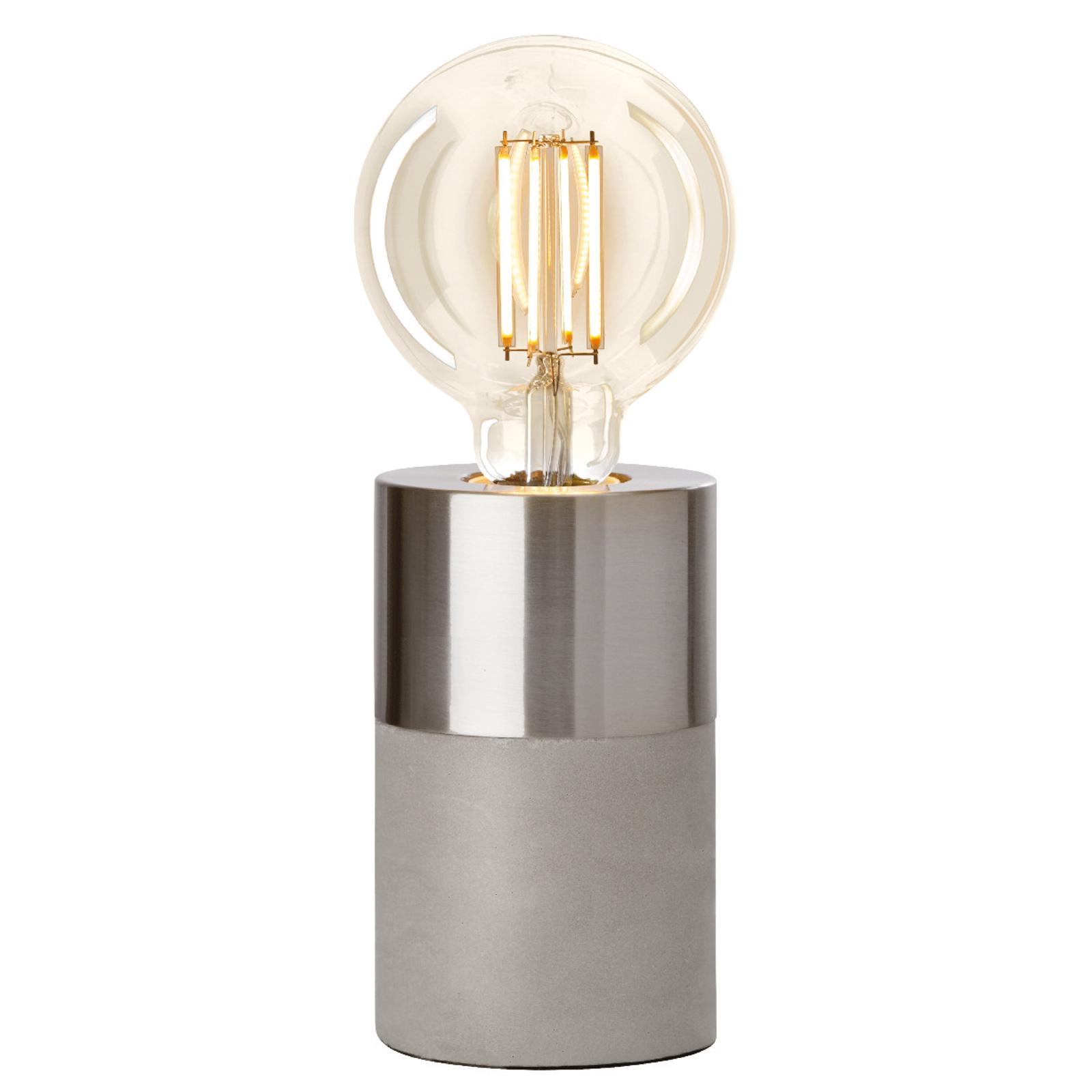 Villeroy & Boch Athen stolní lampa chrom