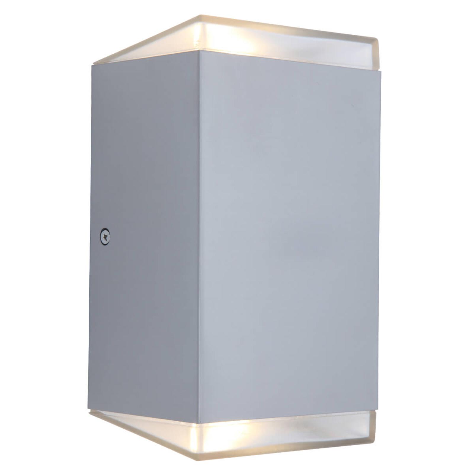 LED buitenwandlamp Path, kubus, zonder sensor