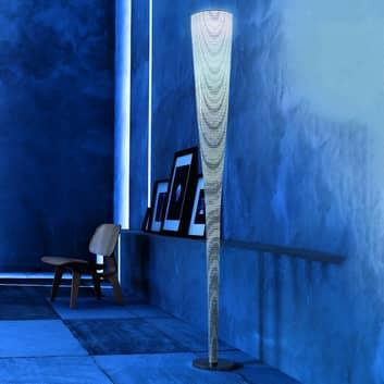 Foscarini Mite lampa stojąca LED, czarna