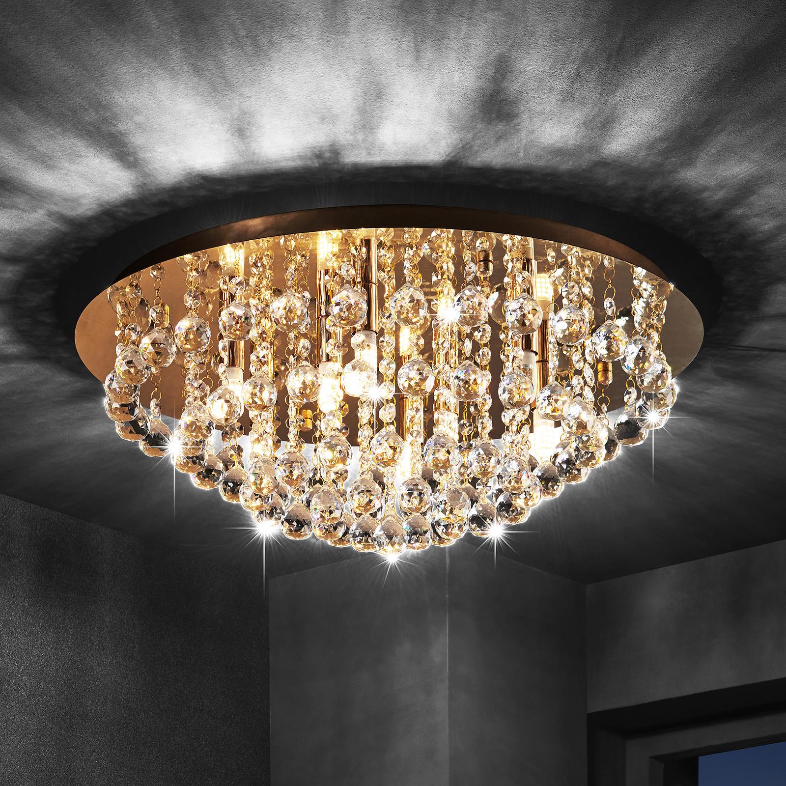 Lindby Gillion lampa sufitowa, 8-punktowa