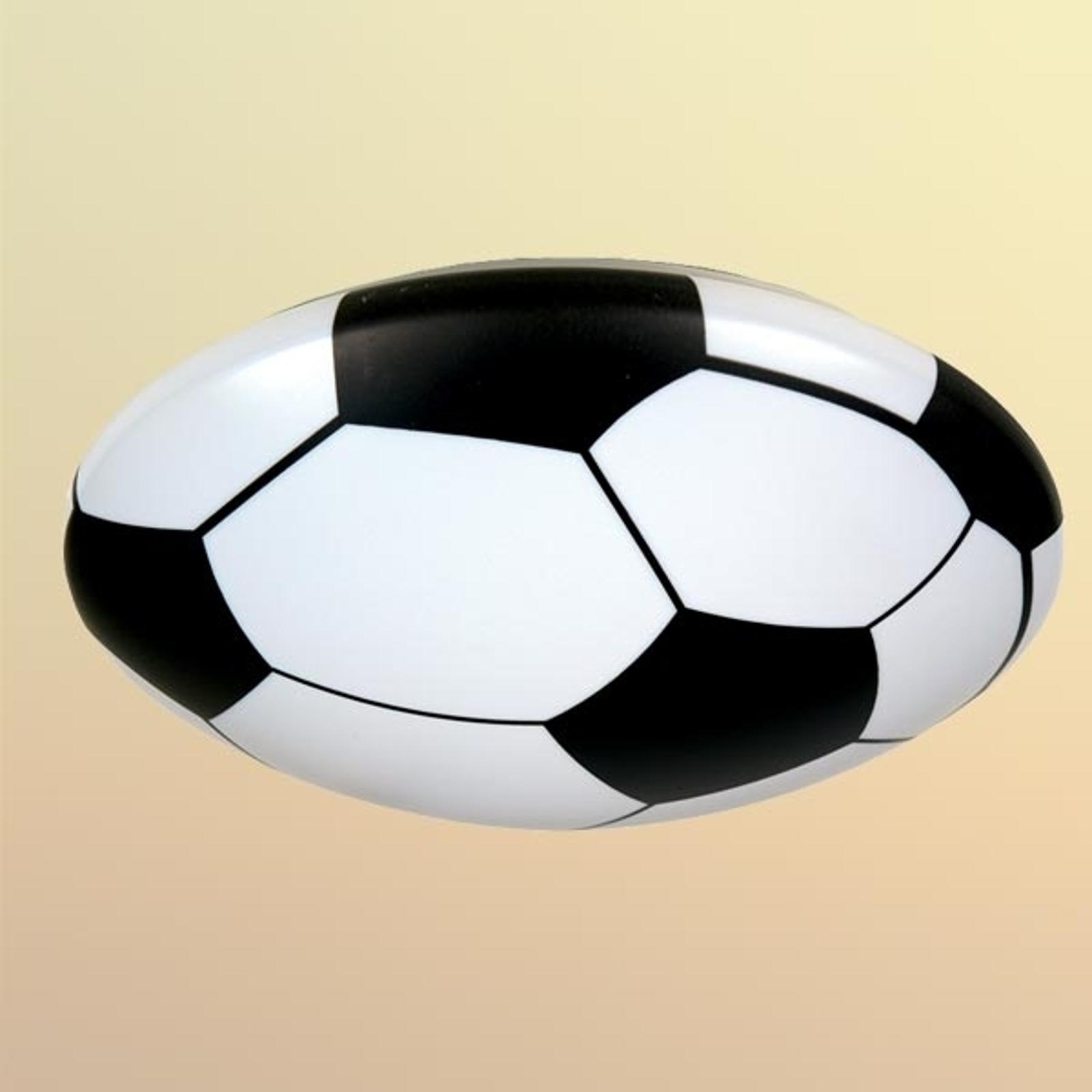 Taklamp Fotball, plast