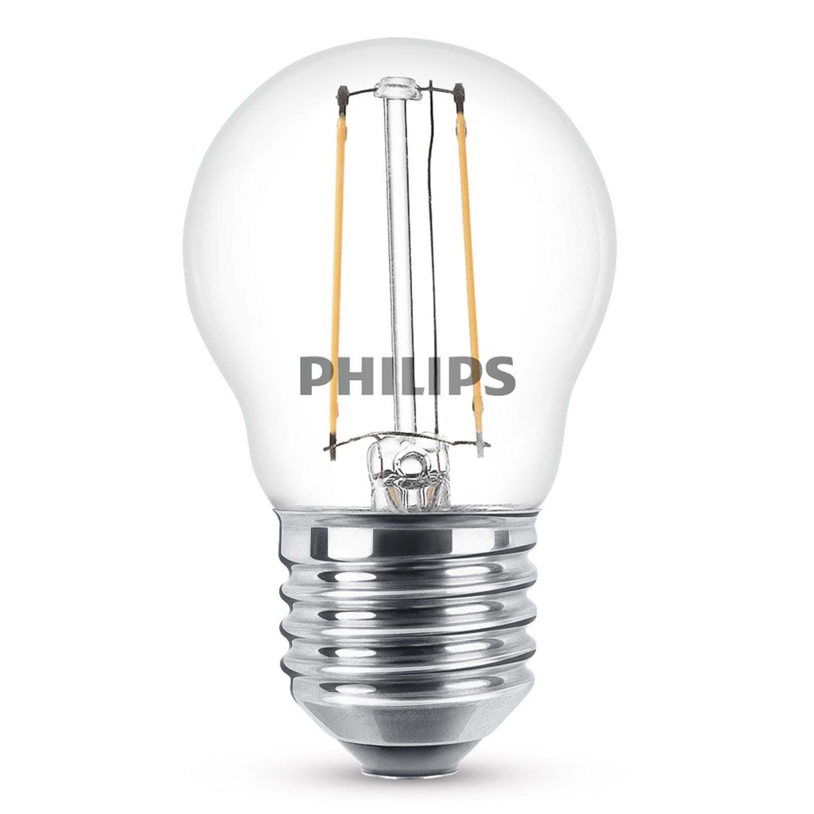 Philips E27 2W 827 LED-Lampe