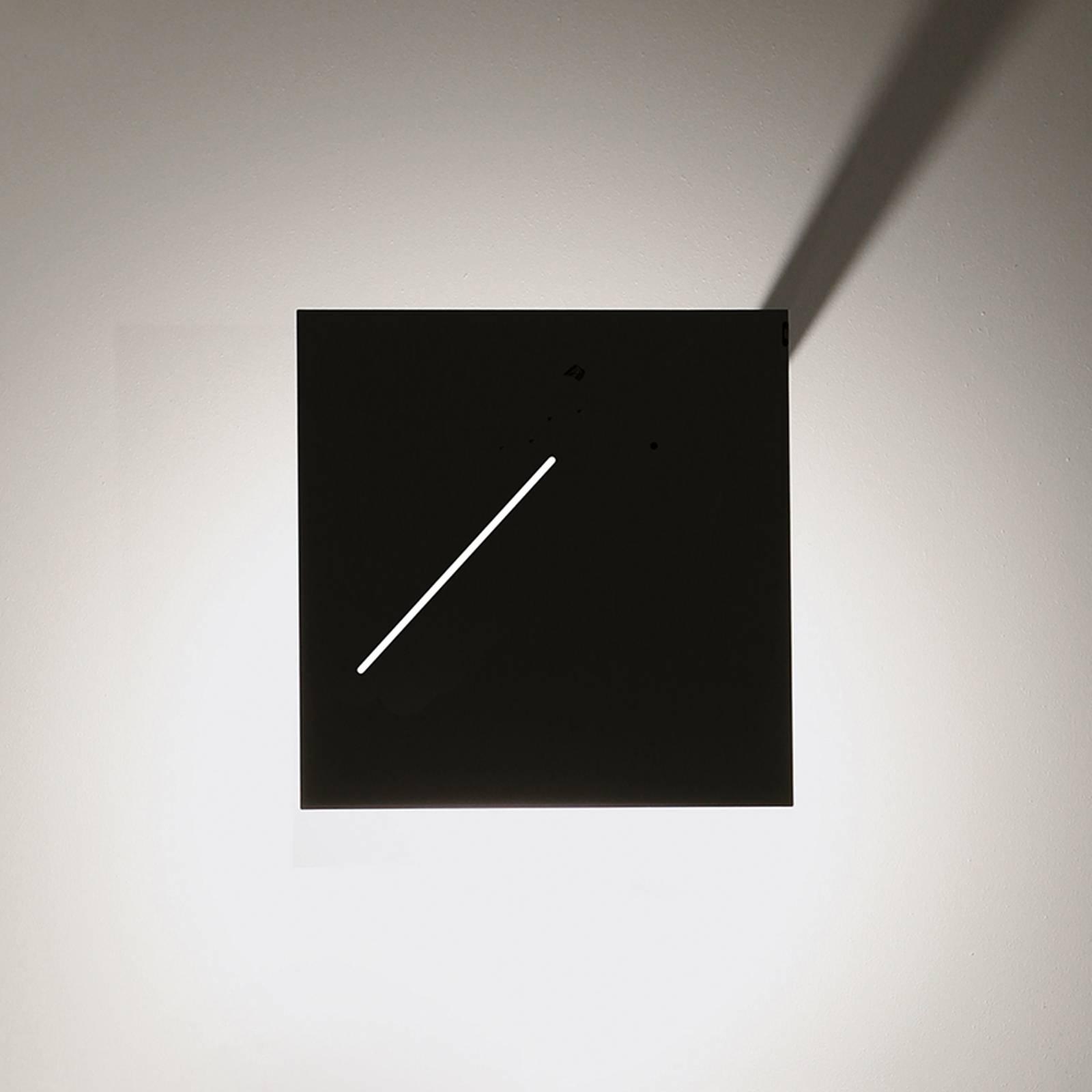 Designerska lampa stojąca LED Des.agn, czarna