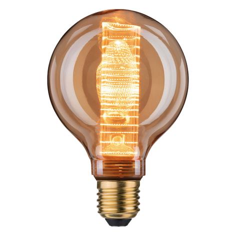 LED globe E27 4W G95 Inner Glow filamento anelli