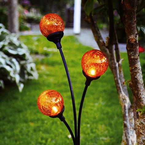 Trieste - lampada solare LED con tre sfere