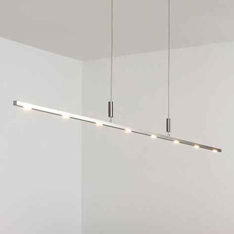 Suspension LED Tolu fine à int variable 180 cm
