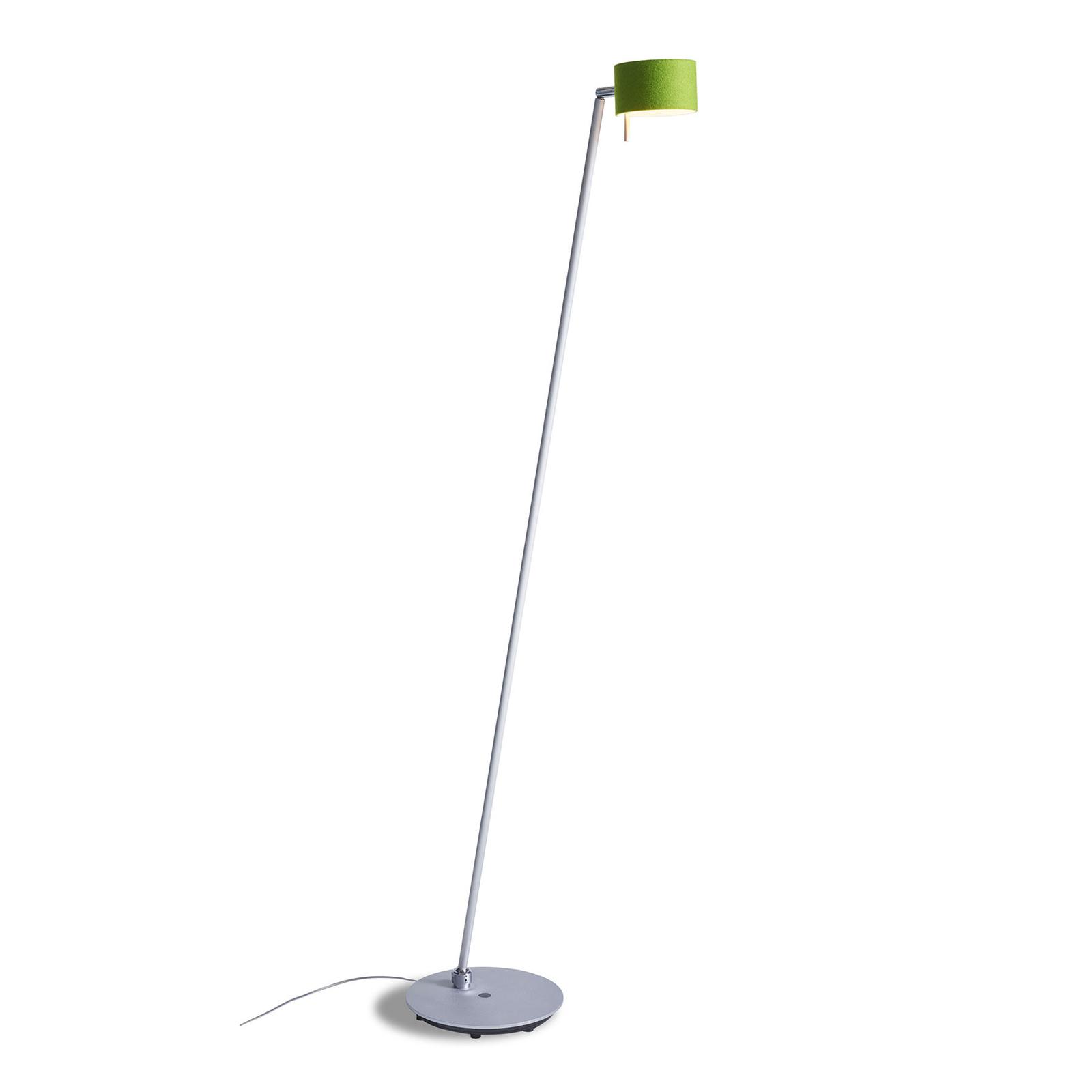 LED-Stehleuchte CAI, dimmbar, apfel/wollweiß