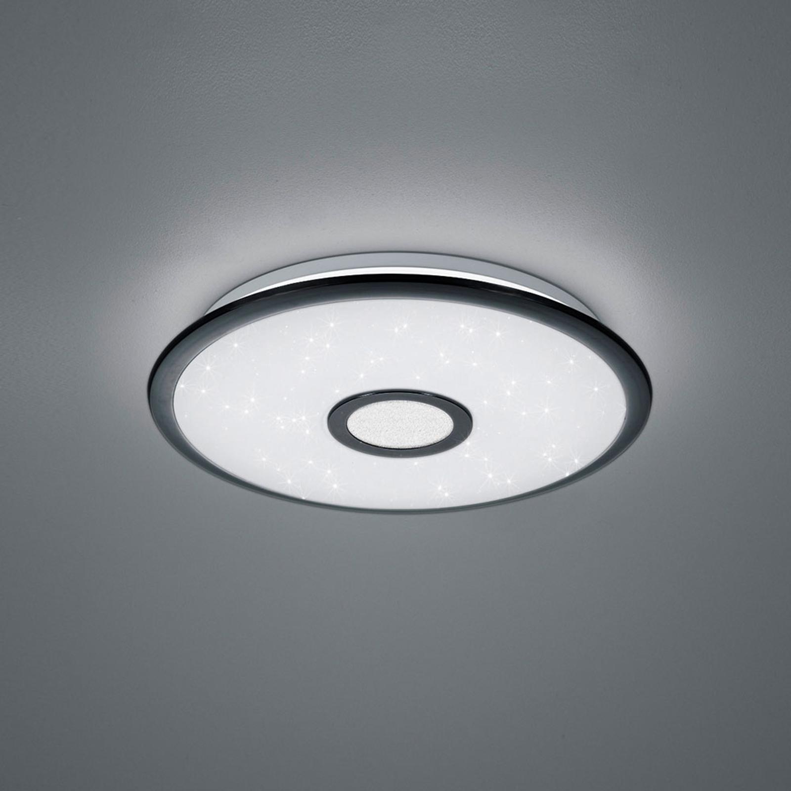 LED-taklampe Okinawa, 3000K–5500K, Ø 42cm