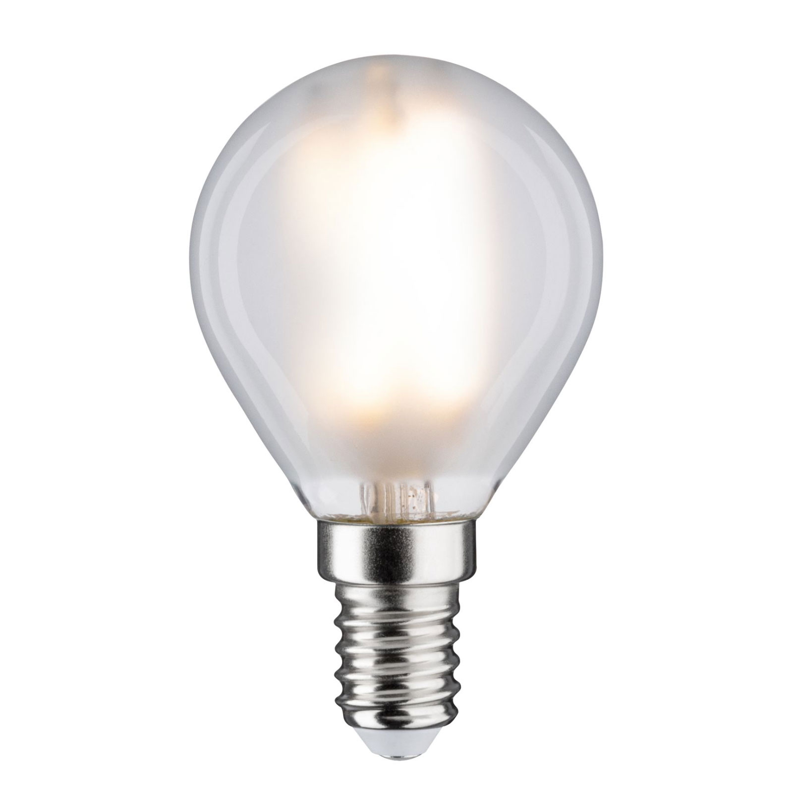 LED-Tropfenlampe E14 P45 5W 840 matt dimmbar