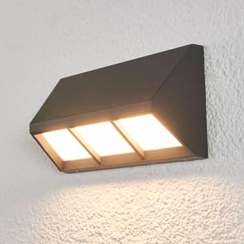 Świecąca w dół zewn. lampa sufitowa LED Cedrik