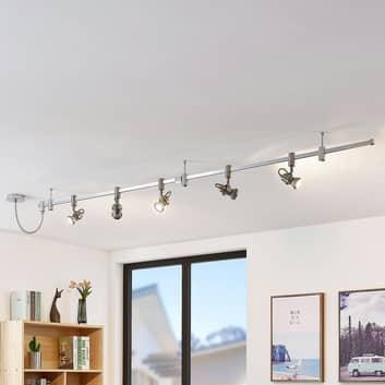 Wysokonapięciowy system szynowy LED Alayah, GU10