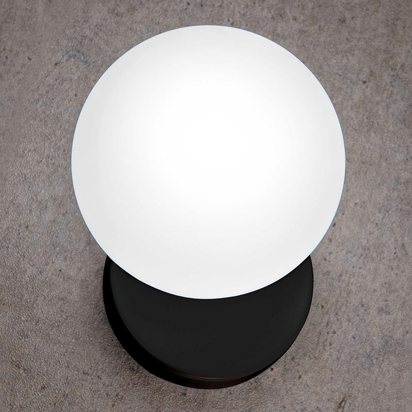 Wandlamp Tin Tin 1-lamp zwart