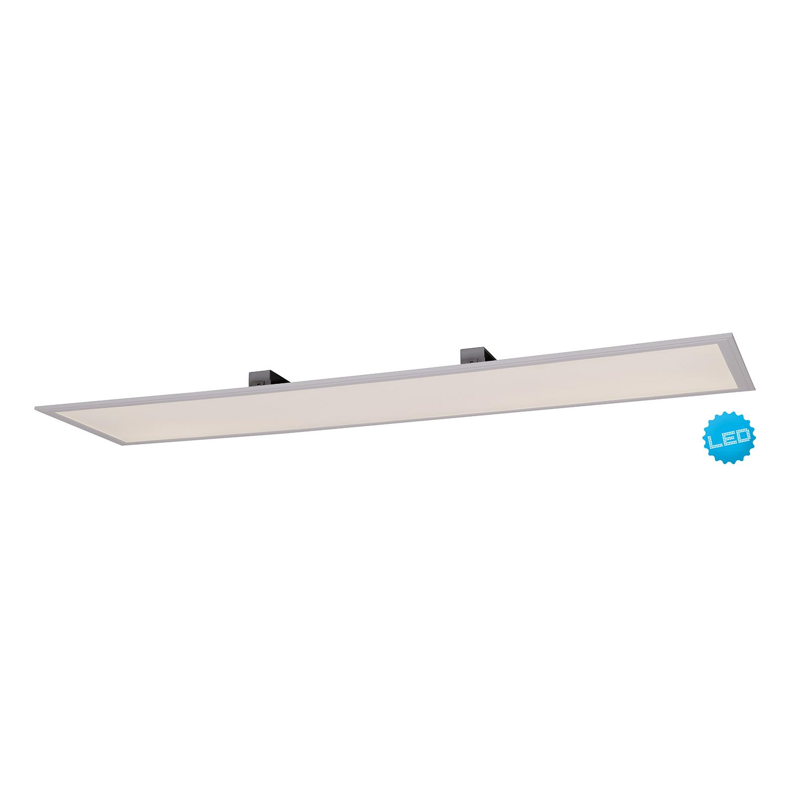 LED-Panel 1298703 zum Ein- oder Aufbau, 120x30 cm