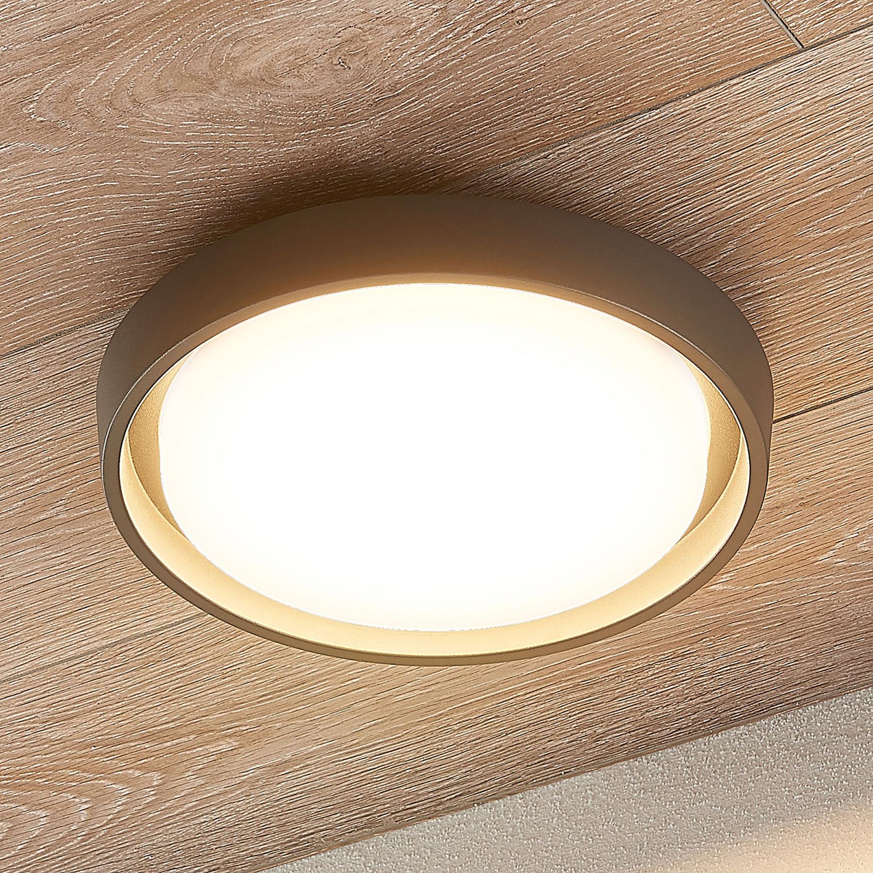Lampa sufitowa LED Birta, okrągła, 27 cm