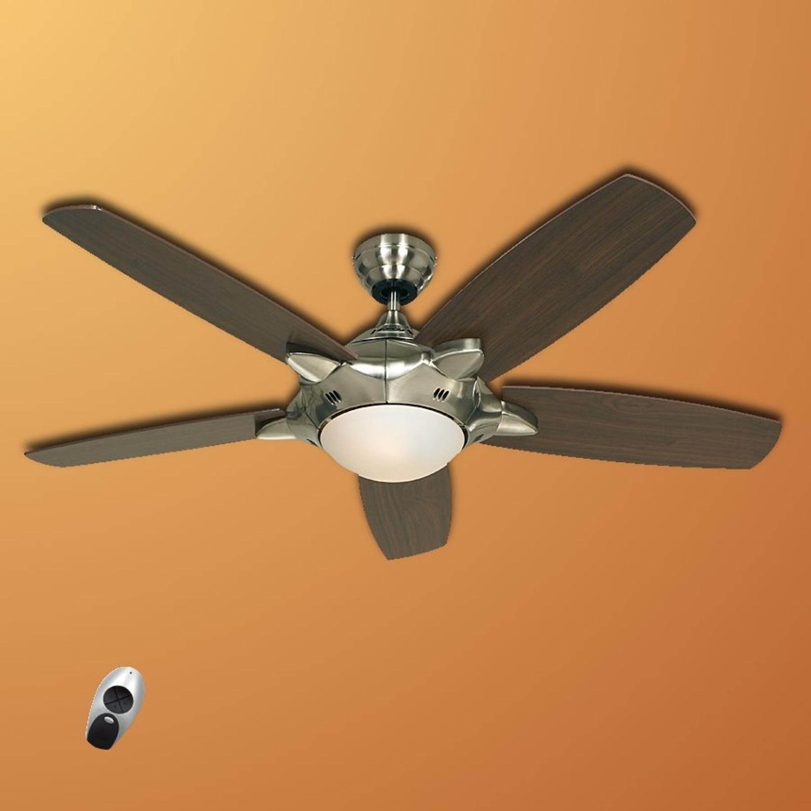 Verlichte plafondventilator Mercury