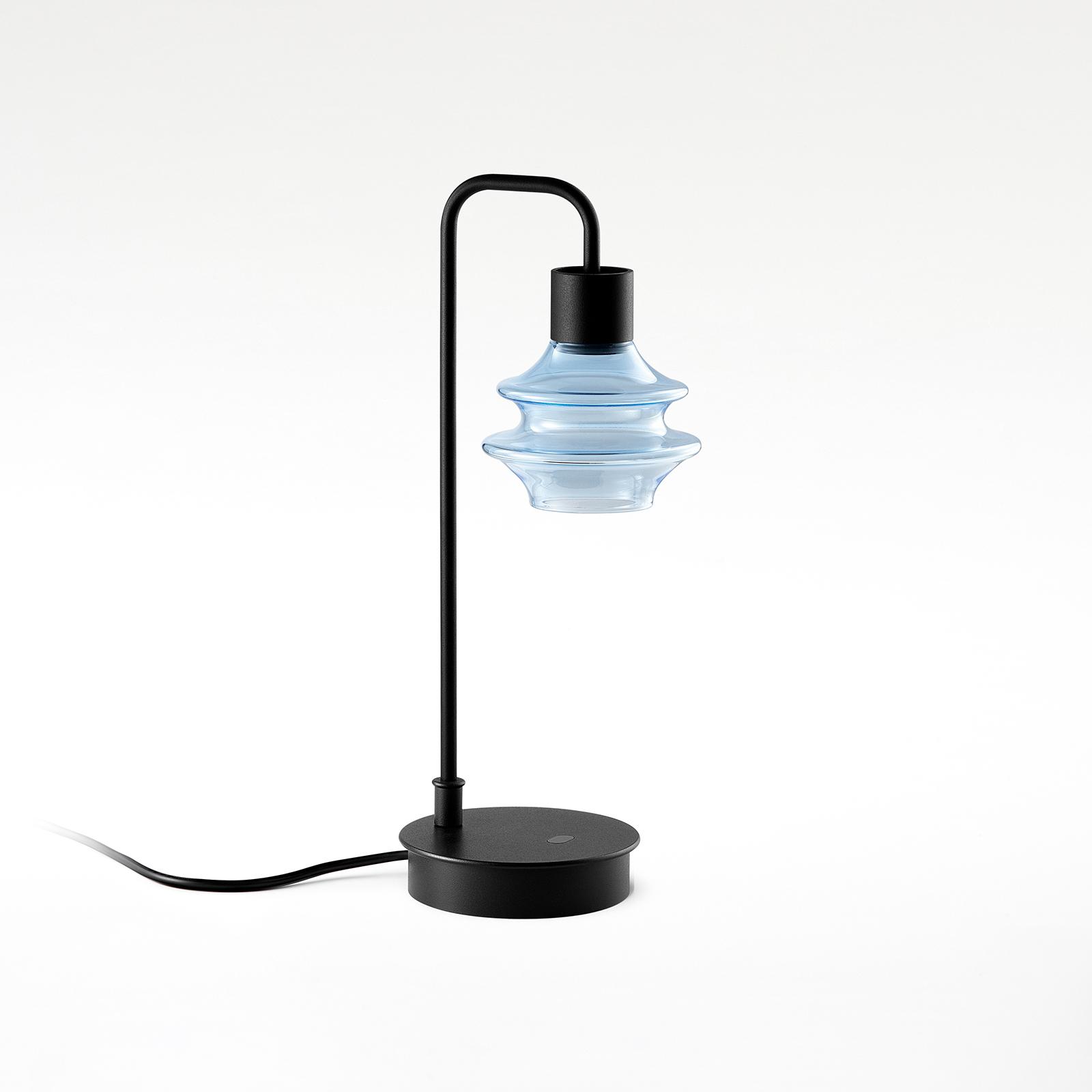 Bover Drop M/36 lampe à poser LED bleue