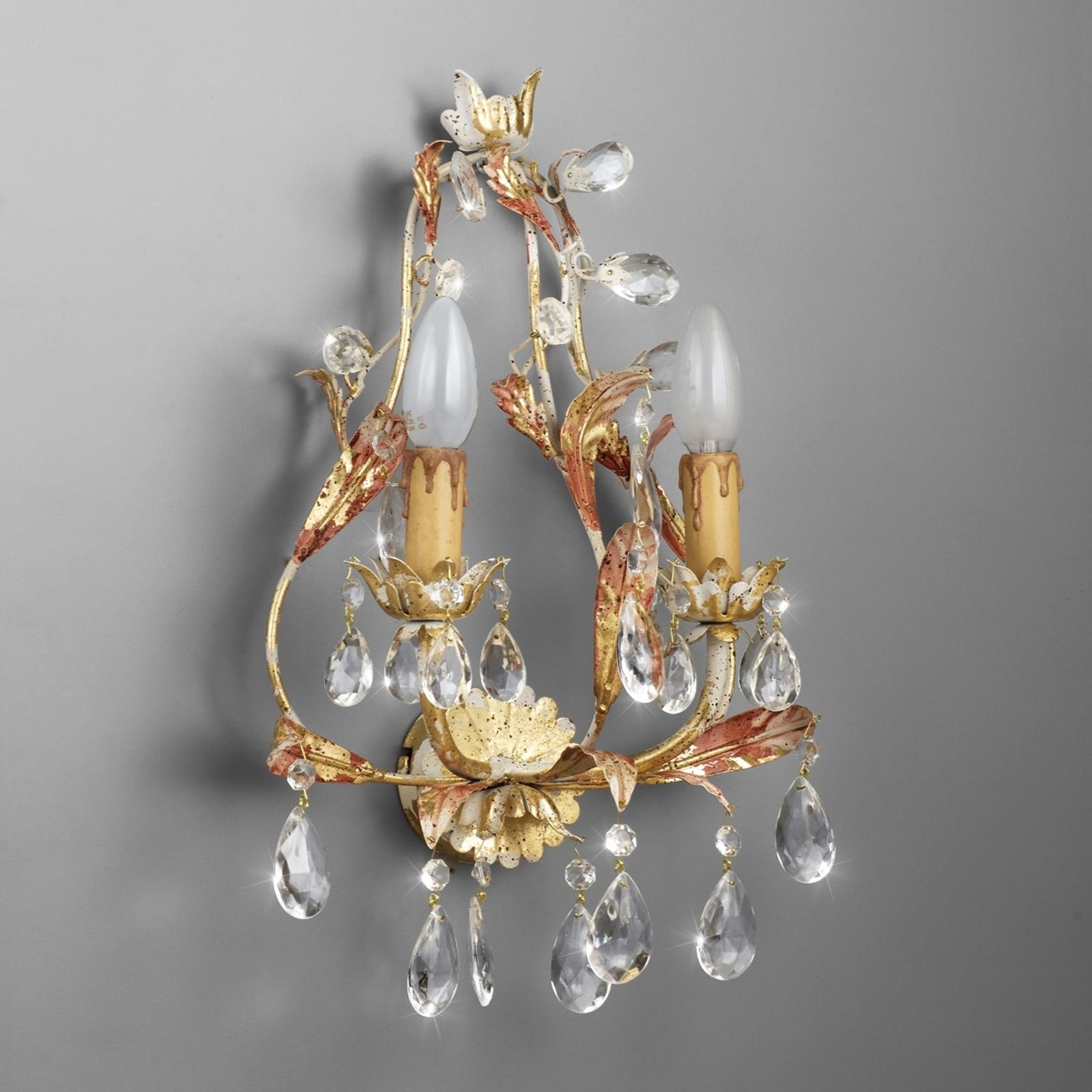 2-lichts wandlamp PERUGIA