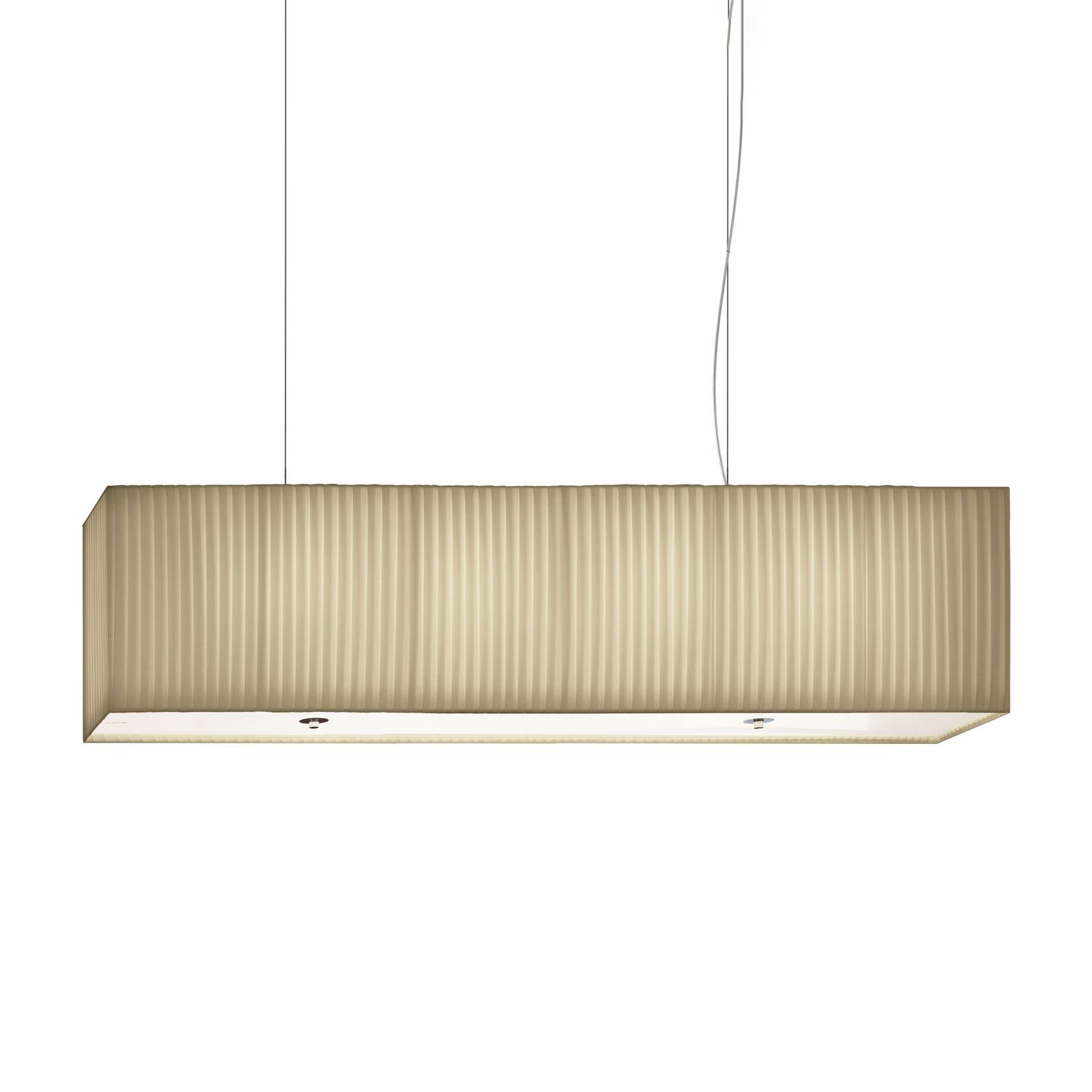 Modo Luce Rettangolo suspension 90cm ivoire