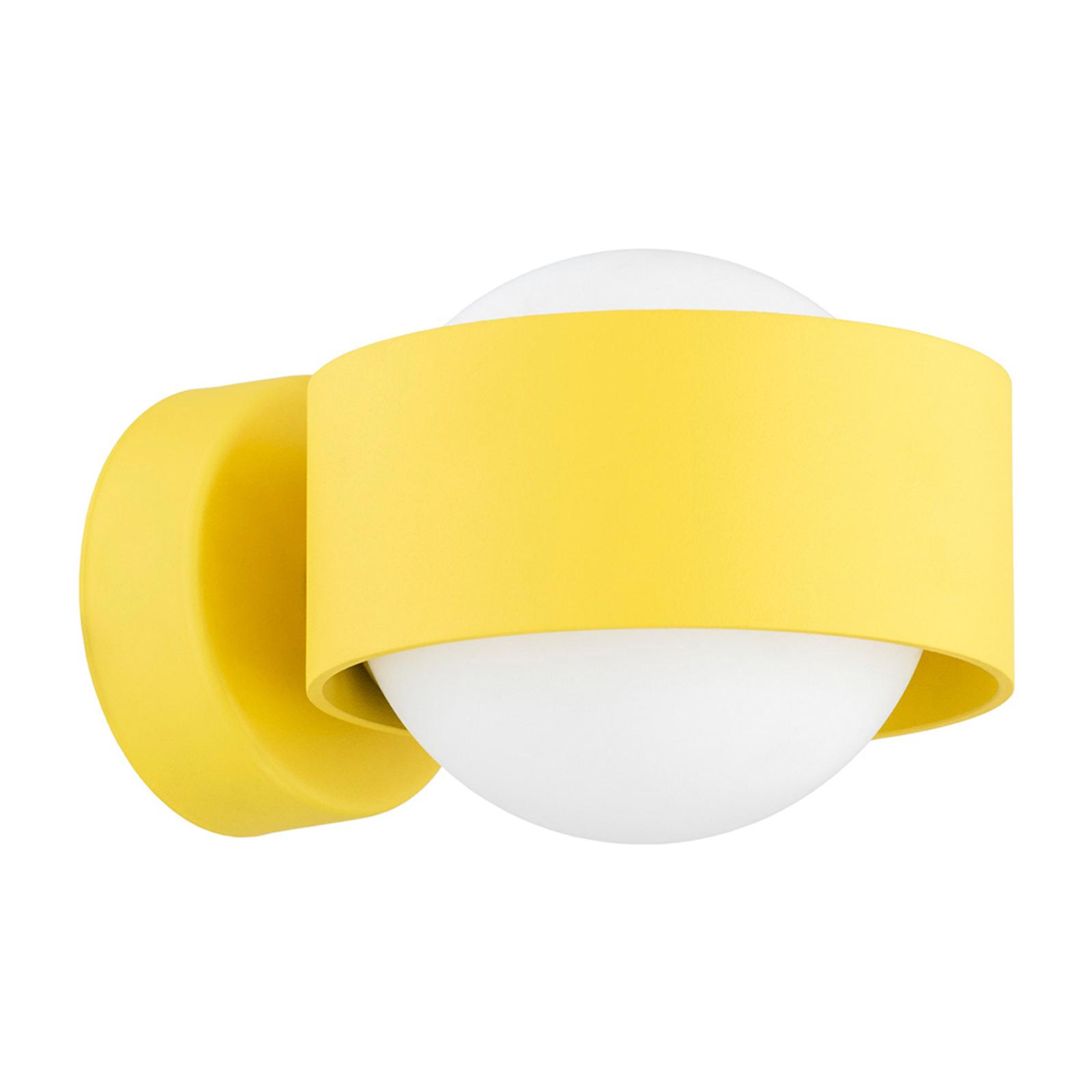 LED-Bad-Wandlampe Macedo, gelb