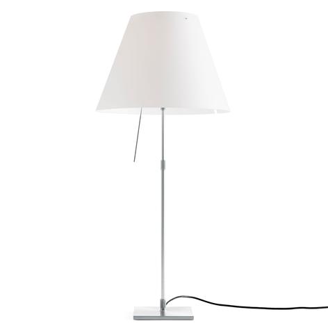 Luceplan Costanza de mesa aluminio blanco, difusor