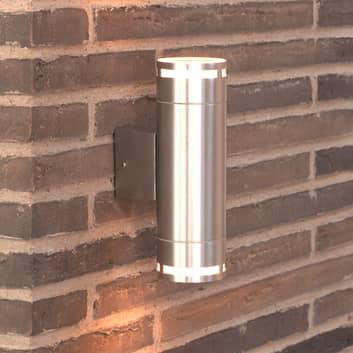 Utomhusvägglampa Can Maxi med up- och downlight