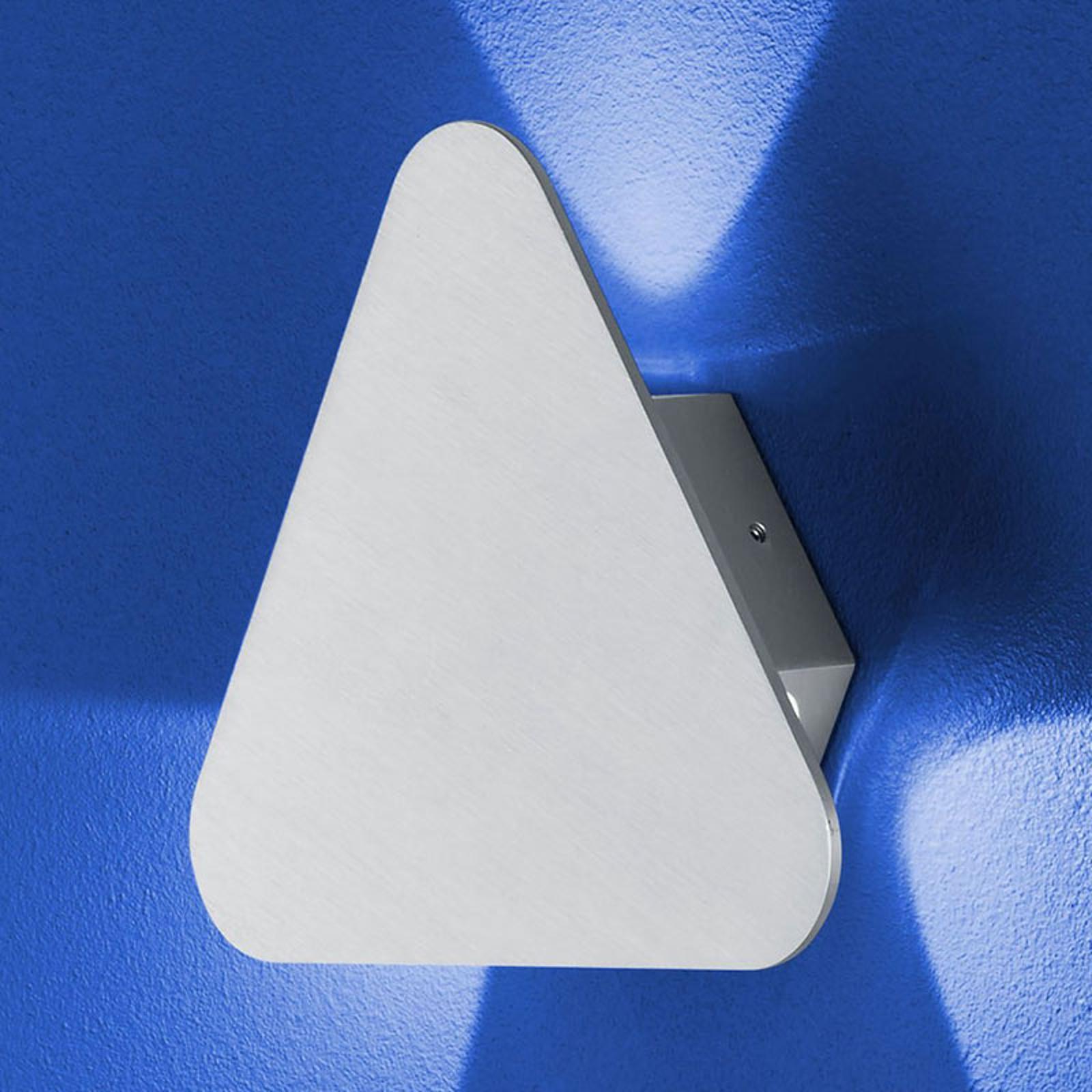 B-Leuchten Prince wandlamp IP54, driehoekig