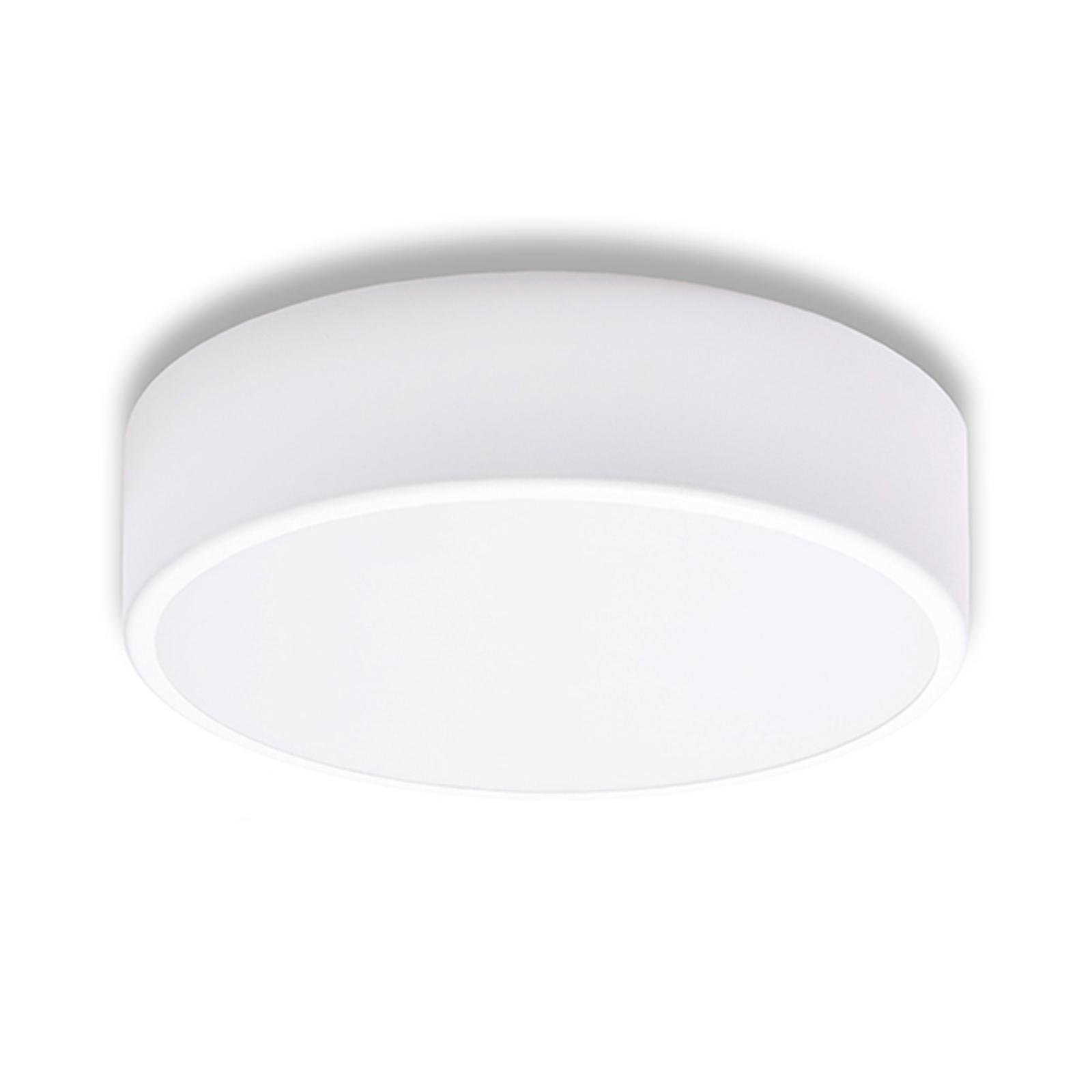 Stropní světlo Cleo, Ø 30 cm, bílá