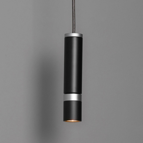 LDM Kyno Tavolo Uno lampa wisząca LED, czarna