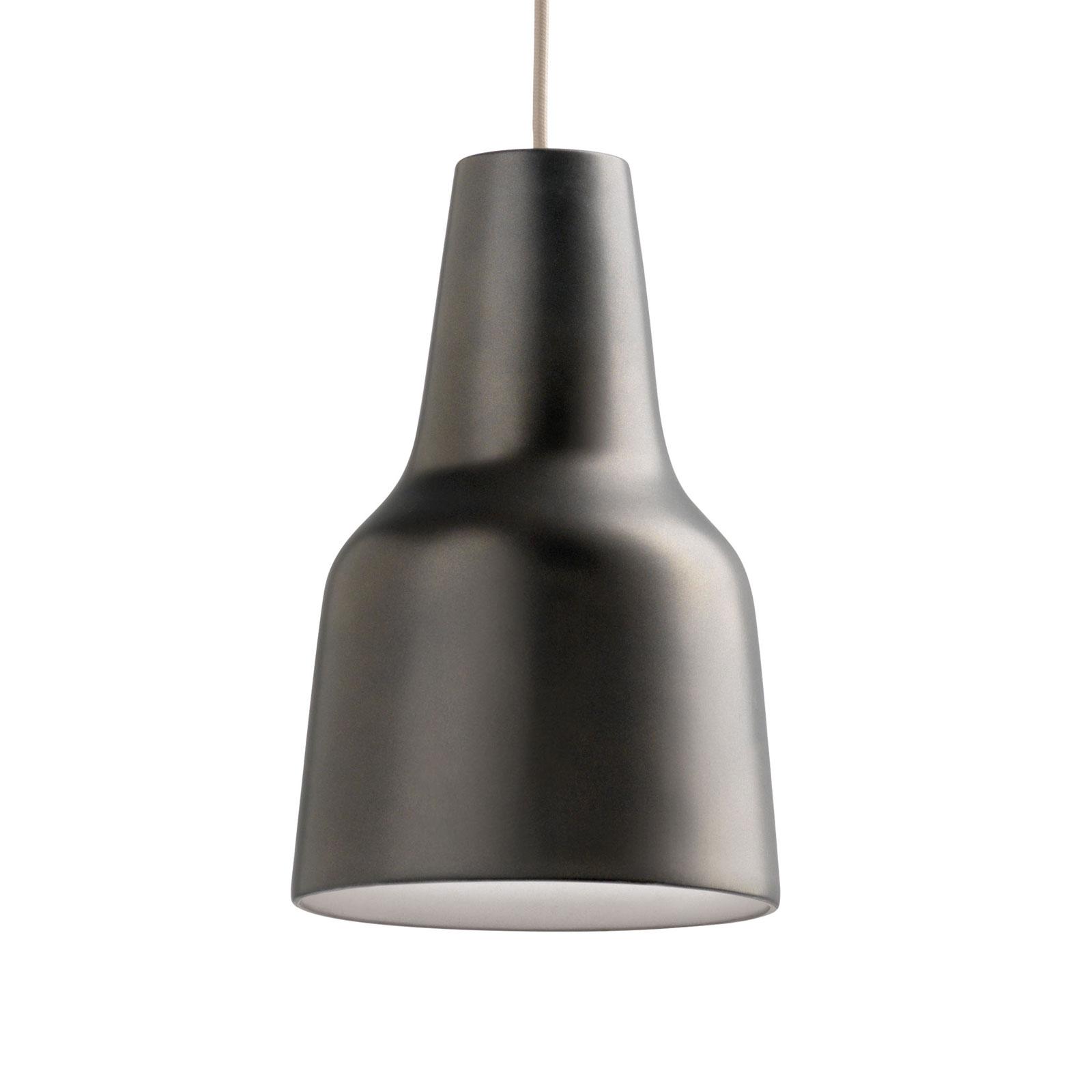 Modo Luce Eva lampa wisząca Ø 38 cm ciemnobrązowa