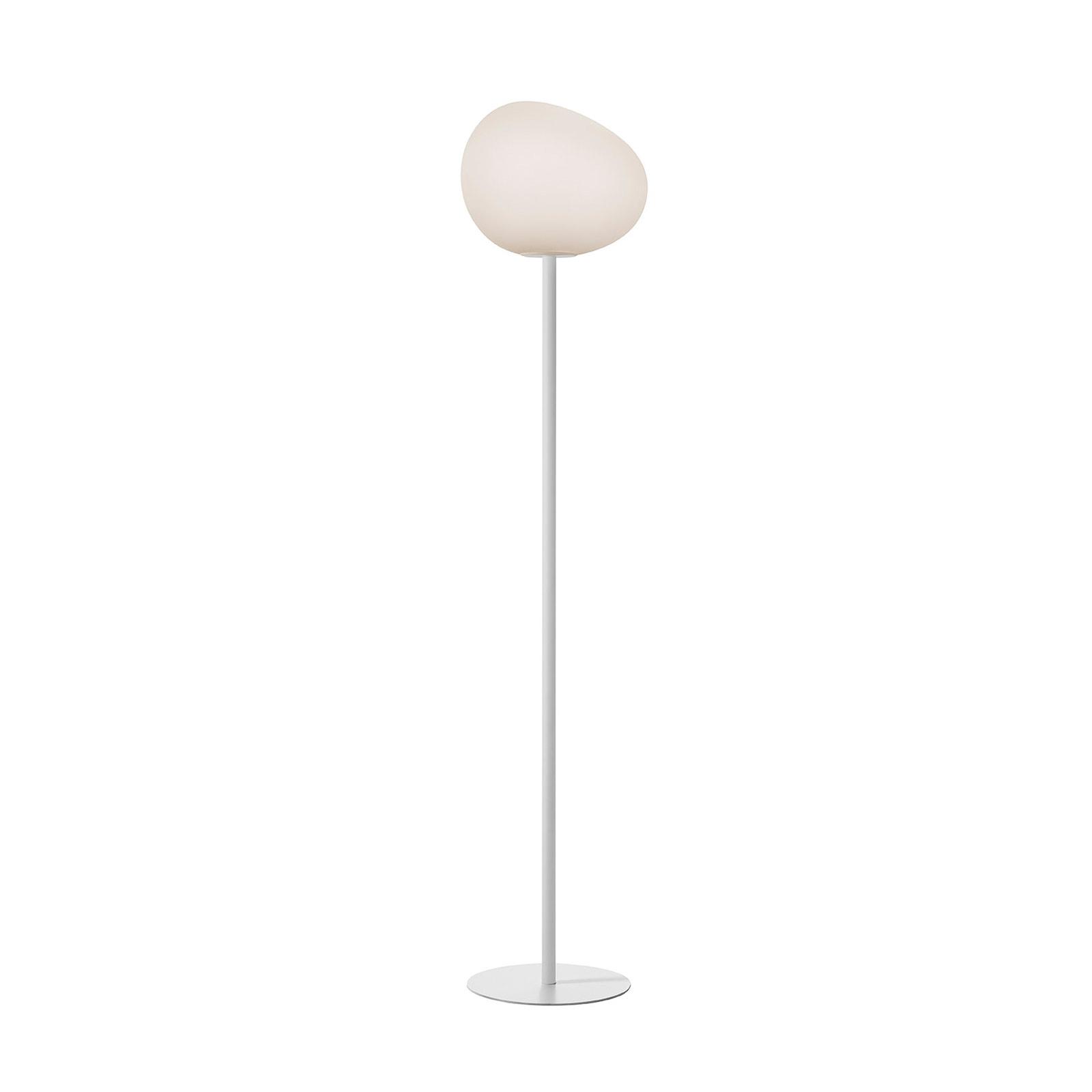 Foscarini Gregg media gulvlampe, 151 cm, hvid